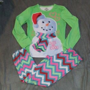 3/$18.  Justice girls 10 pjs set